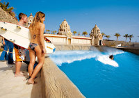 The Wave Palace at Siam Park